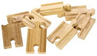 Bigjigs Rail Accessories - Mini Track Pieces