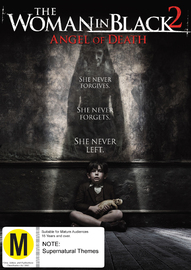The Woman in Black: Angel of Death on DVD