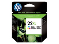 HP 22XL Ink Cartridge C9352CA - High Yield (Tri-color)