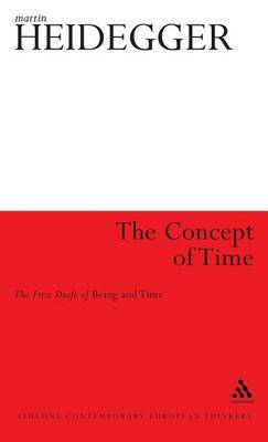 The Concept of Time by Martin Heidegger image