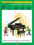 Alfred's Basic Piano Library Lesson Book, Bk 1b by Willard Palmer