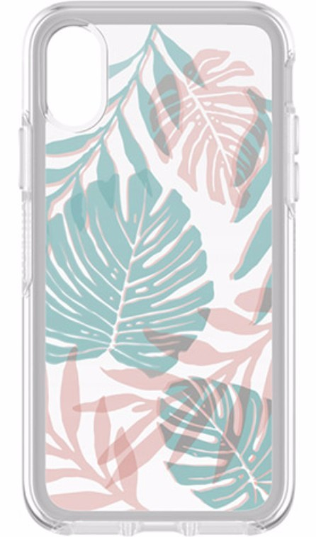 OtterBox Symmetry Clear Case for iPhone X/XS - Easy Breezy