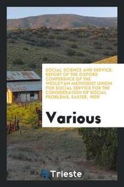 Social Science and Service by Various ~ image