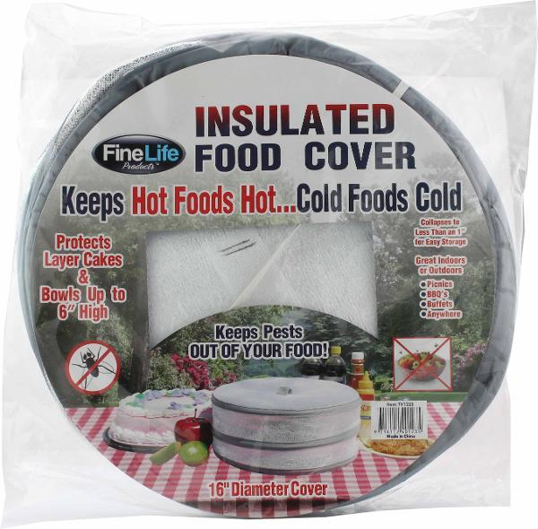 "Insulated Food Covers - Large (16"")"