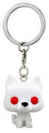 Game of Thrones: Ghost Flocked - Pocket Pop! Keychain image