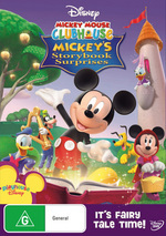Mickey Mouse Clubhouse - Mickey's Storybook Surprises on DVD