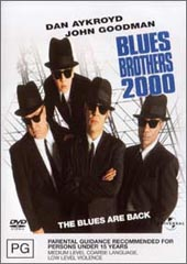 The Blues Brothers 2000 on DVD