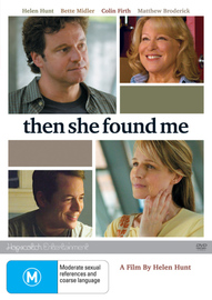 Then She Found Me on DVD