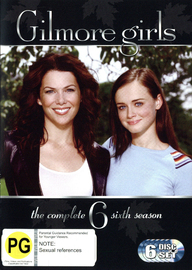 Gilmore Girls - The Complete Sixth Season (6 Disc  Set) (New Packaging) on DVD image