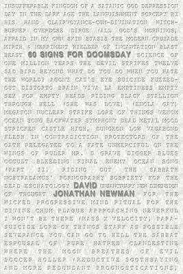 60 Signs for Doomsday by David Jonathan Newman