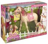Barbie: Saddle 'N Ride Horse - Figure Set