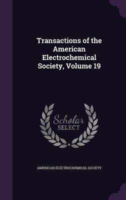 Transactions of the American Electrochemical Society, Volume 19 image