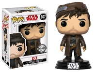 Star Wars: The Last Jedi - DJ Pop! Vinyl Figure