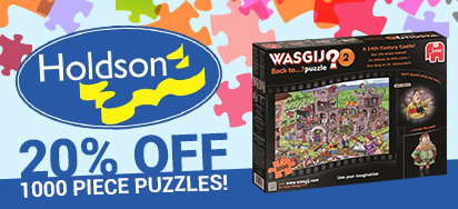 20% off 1000pc Holdson Puzzles