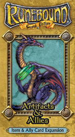 Runebound: Artifacts & Allies Expansion image