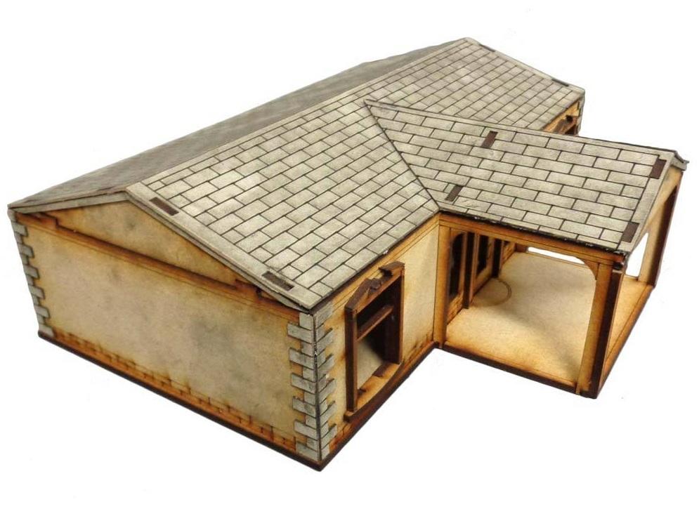 TTCombat: Tabletop Scenics - Suburban House C image