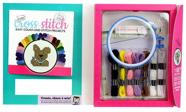 Spice Box: Let's Make Cross-Stitch - Craft Kit