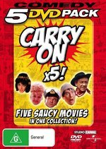Comedy 5 DVD Pack - Carry On x5! (5 Disc Set) on DVD