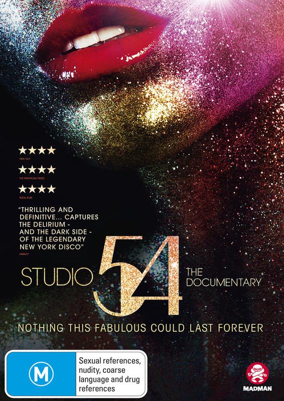 Studio 54: The Documentary on DVD