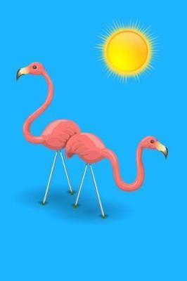 Pink Flamingo Notebook by Flamingo Notebook