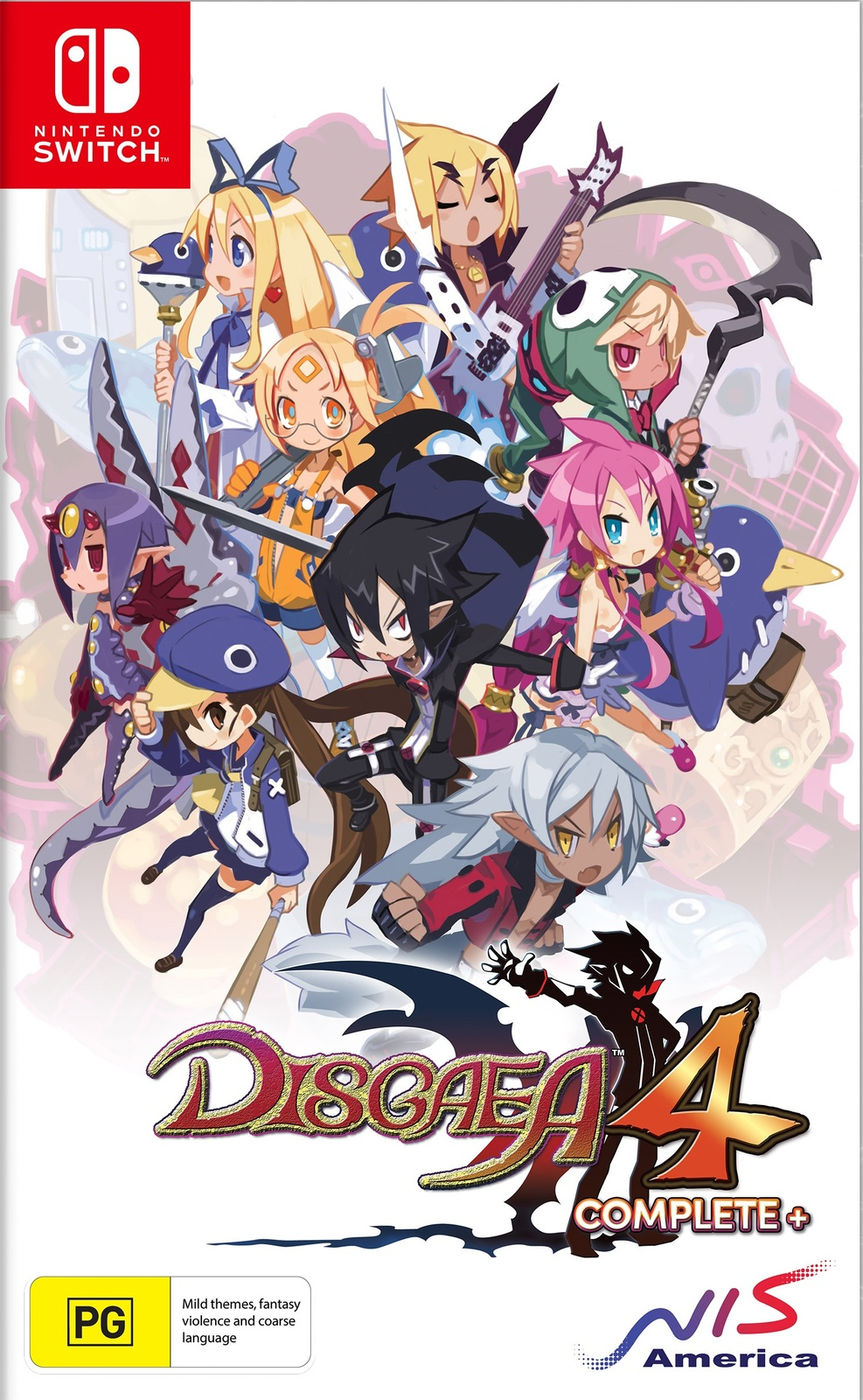 Disgaea 4 Complete+ Day One Edition for Switch image