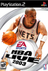 NBA Live 2003 for PS2
