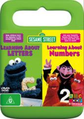 Sesame Street - Learning About Letters/Learning About Numbers on DVD