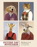Picture Day Notecards (20 Cards/Envelopes) by Chronicle Books