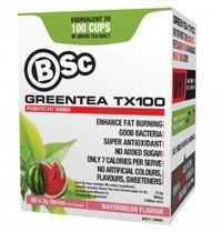 BSC Green Tea TX100 - Watermelon (60x3g)