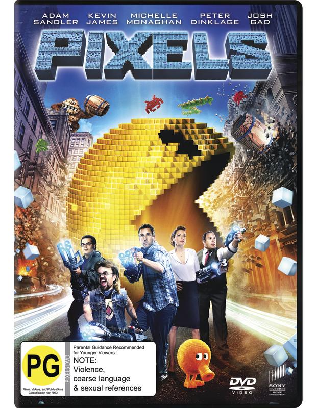 Pixels on DVD