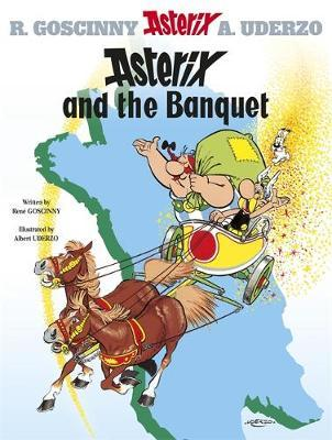 Asterix and the Banquet: Bk. 5 by Rene Goscinny image
