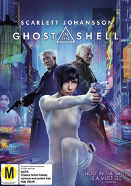 Ghost In The Shell on DVD image