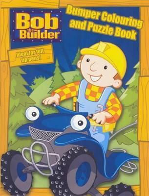 Bob The Builder Bumper Colouring and Puzzl