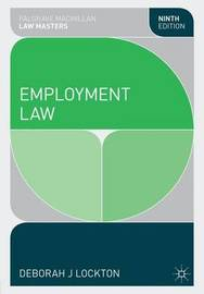 Employment Law by Deborah Lockton