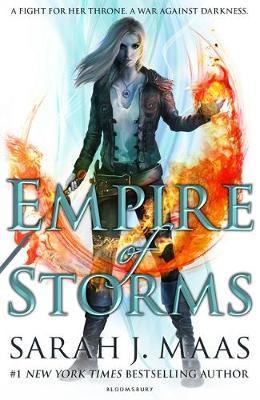 Empire of Storms by Sarah J Maas image