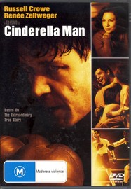 Cinderella Man on DVD image