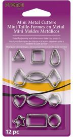 Sculpey Mini Metal Cutters (Pack 12)