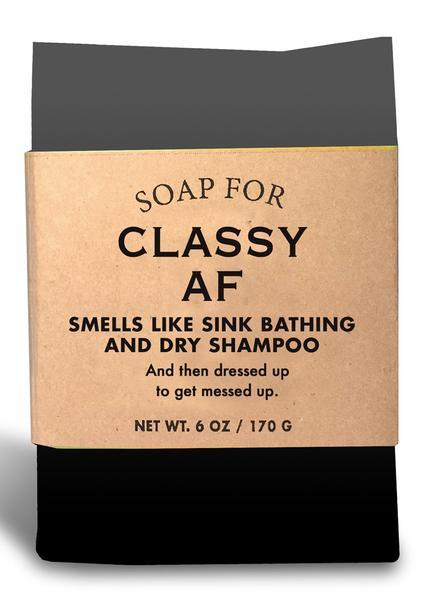 Whiskey River Co: Soap - Classy AF