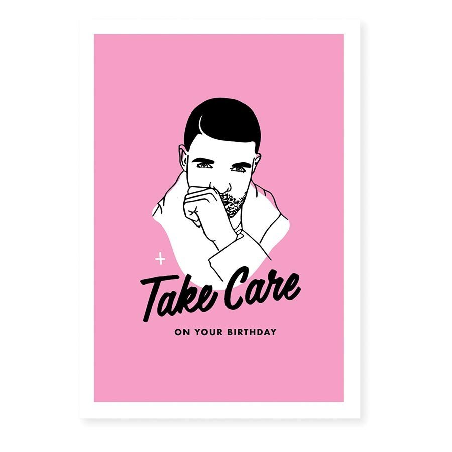 Famous Flames Birthday Card - Drizzy image