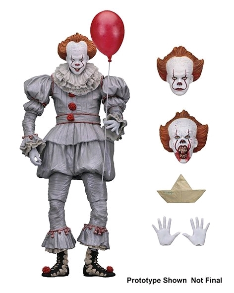 "It (2017) - Pennywise Ultimate 7"" Action Figure image"