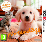 Nintendogs + Cats: Golden Retriever & New Friends for Nintendo 3DS
