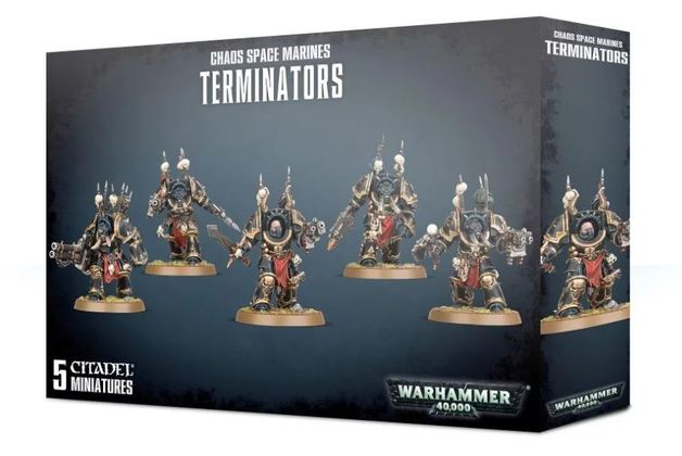 Warhammer 40,000: Chaos Space Marines - Terminators