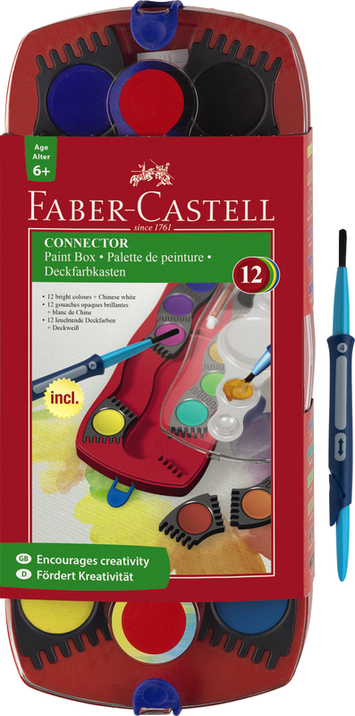 Faber-Castell: Connector Watercolour Paints (Set of 12)