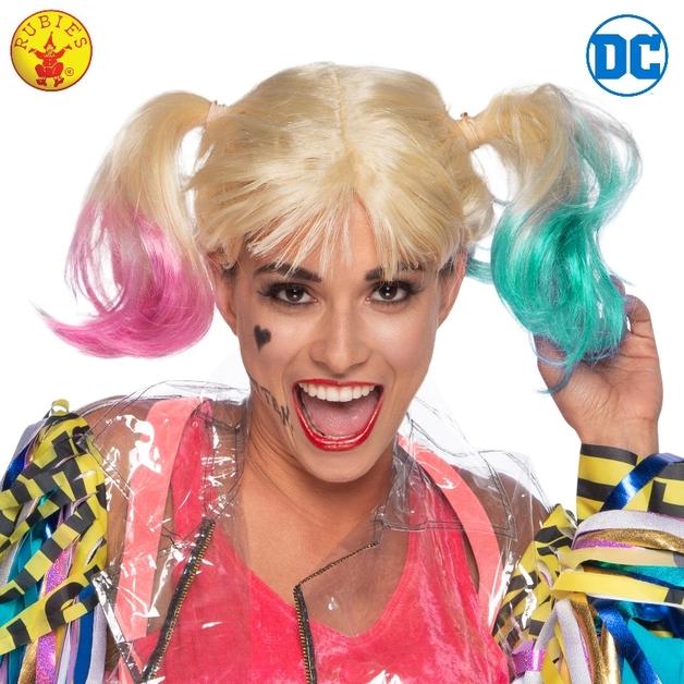 Harley Quinn Birds of Prey Wig - Adult