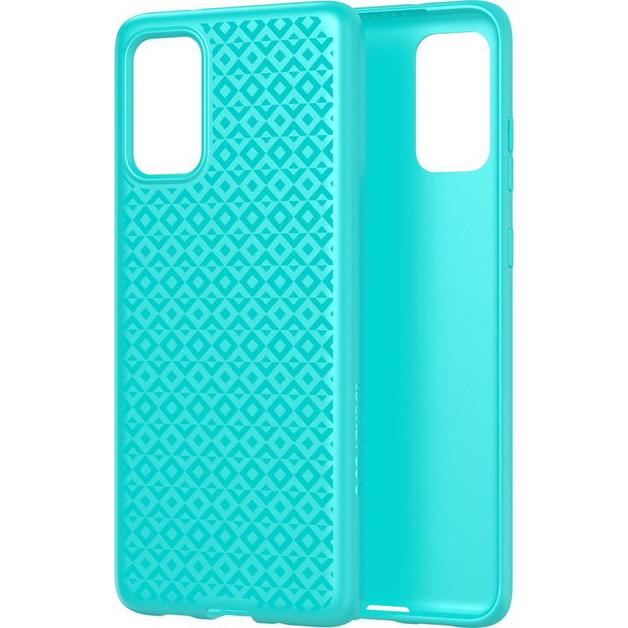 Tech21: Antimicrobial BioShield | Studio Design for Samsung Galaxy S20 - Aqua