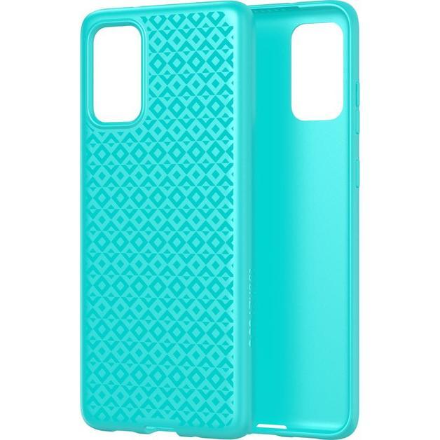 Tech21: Antimicrobial BioShield | Studio Design for Samsung Galaxy S20 - Aqua