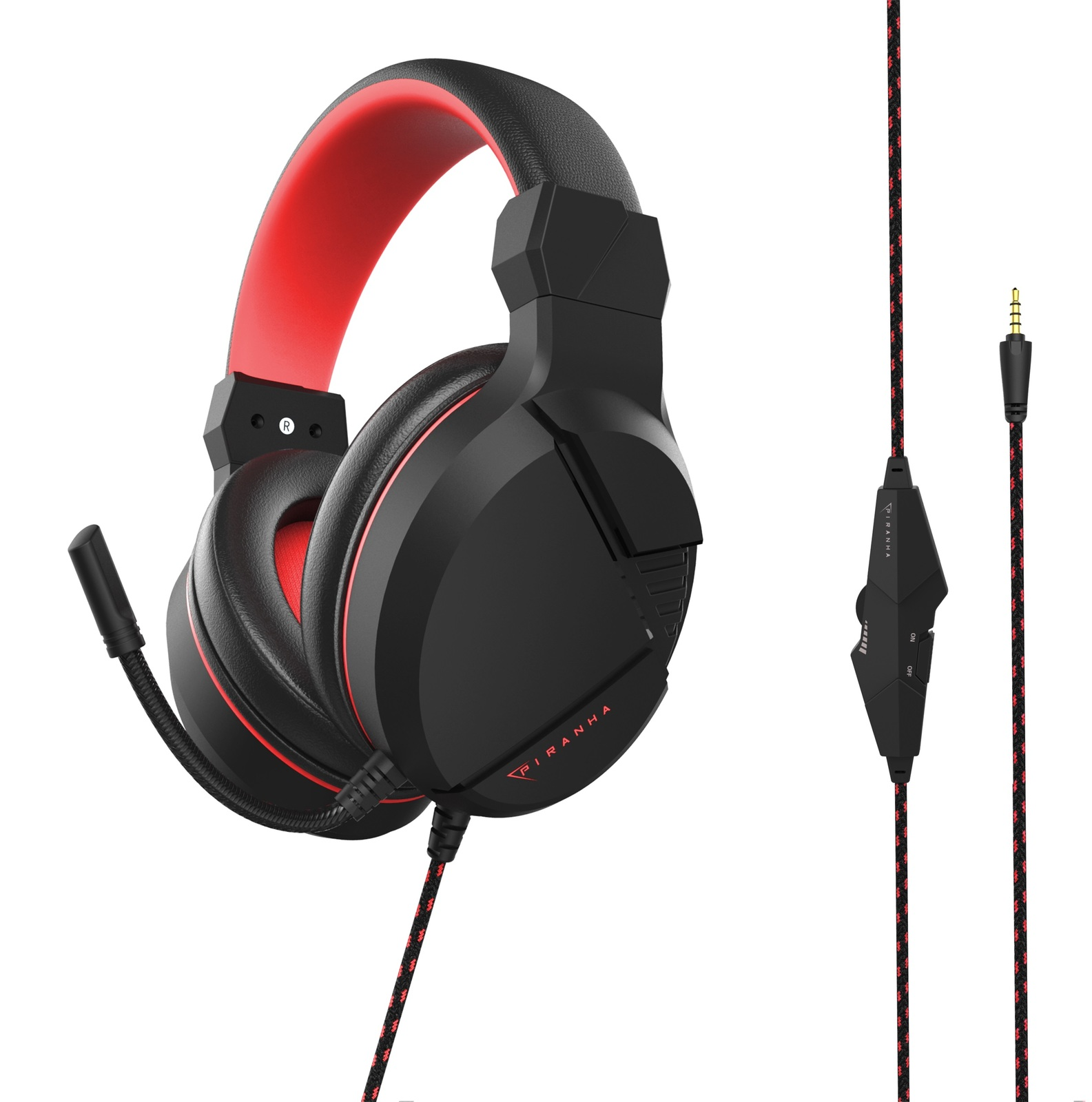 Piranha PC40 Gaming headset for PC image