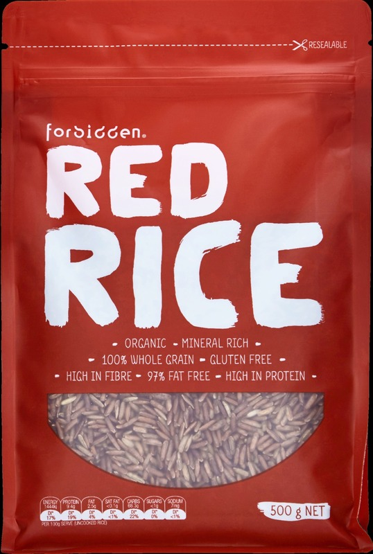 Forbidden Organic Red Rice (6 x 500g)