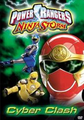 Power Rangers Ninja Storm - Cyber Clash on DVD