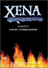 Xena Season 5 Box Set (6 Disc) on DVD